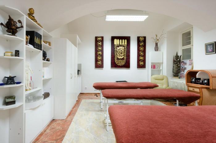 nadržený masážní salon amatér